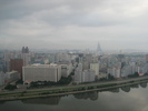 [View over Pyongyang]