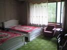 [Ryonggang Hot Spring House bedroom]