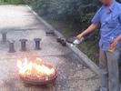 [clam barbecue]