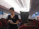 [Air Koryo economy class]
