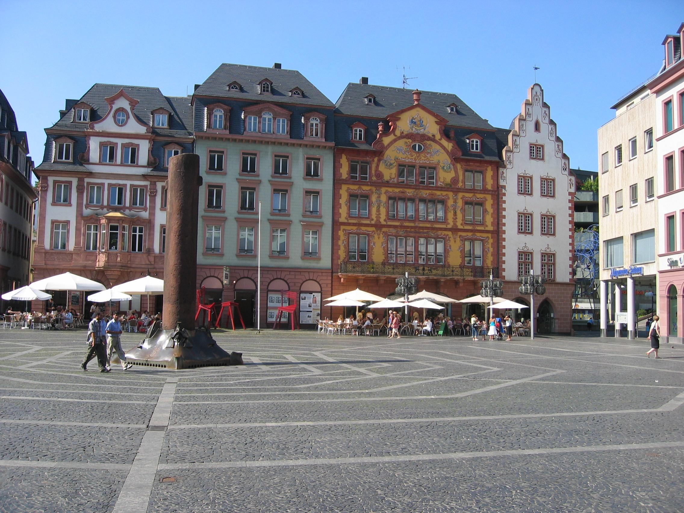 Mainz main square